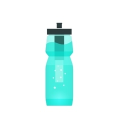 Water filtration bottle for sport and vector image vector image