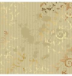vintage golden background vector image vector image