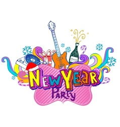 New Year Party vector image vector image