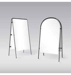 Sandwich board isolated - 3d vector image