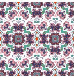 hand drawn ethnic ornamental seamless vector image vector image