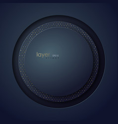 abstract circle multi layer background digital vector image