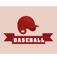 Baseball sport hat vector