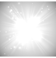 bright flash explosion or burst vector image
