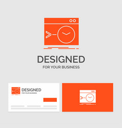 business logo template for admin command root vector image
