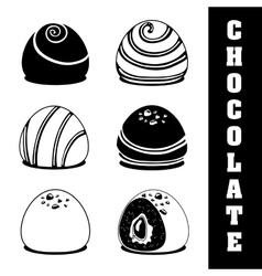 Chocolate icon design vector