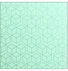 completely seamless abstract cube pattern vector image