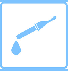 dropper icon vector image