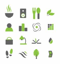 every day icons vector image
