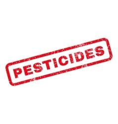 Pesticides Rubber Stamp vector
