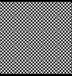 repeatable checkered abstract pattern background vector image