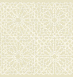 Seamless pattern or islamic background vector