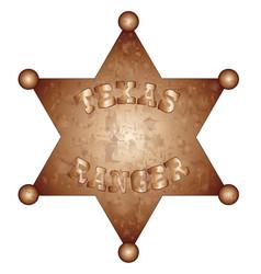 Texas ranger vector