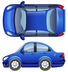 A sedan vehicle vector image vector image