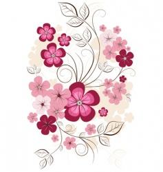 spring isolated branch vector image vector image