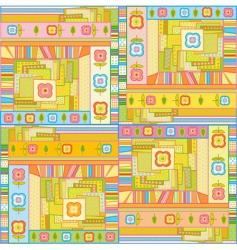 fun background vector image vector image