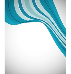 Business Background Wave vector image