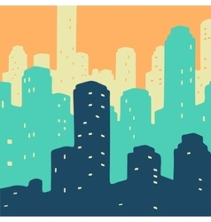 City doodle vector