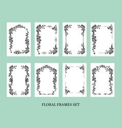 frames set for invitation vector image