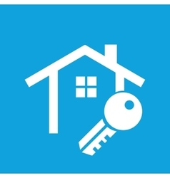 House key icon vector