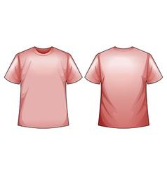 Pink shirts vector