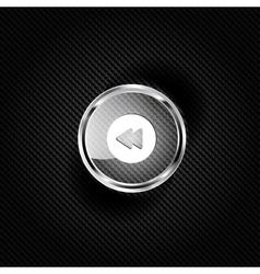 Reverse or rewind web icon vector