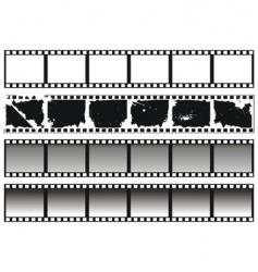 filmstrips vector image vector image