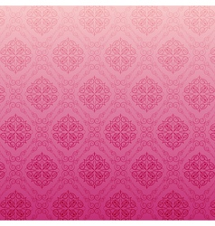 Abstract pink floral background vector image