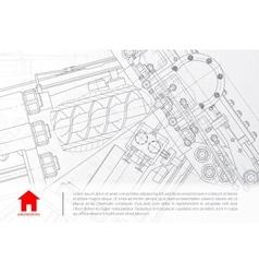 architect background vector image