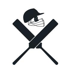 Crickets equipment elements vector