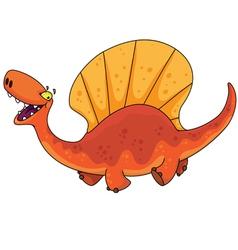 Dinosaur dimetrodon vector