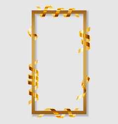 Festival frame serpentine concept banner vector
