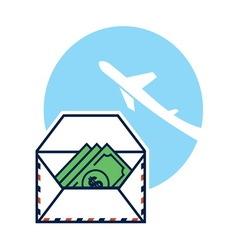 pismo novac1 resize vector image