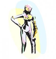 Sculpture vector