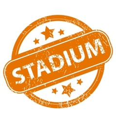 Stadium grunge icon vector image