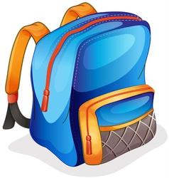 a school bag vector image vector image