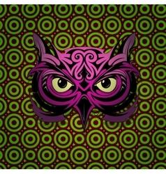 Mystic owl vector image vector image