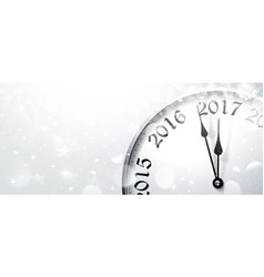 New Year s Eve 2017 vector image vector image
