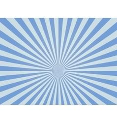 Sunburst ray retro background vector image vector image
