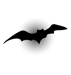 bat silhouettes vector image vector image