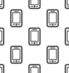 smartphone seamless pattern vector image vector image