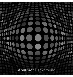 Abstract Dark Gray Technology Background vector