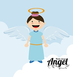 Angel Background vector