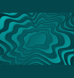 bright turquoise abstract corporate wavy vector image