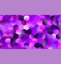 brightly colored violet and purple mosaic glitter vector image