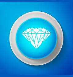 diamond sign jewelry symbol gem stone vector image