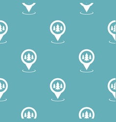 forest map pointer pattern seamless blue vector image
