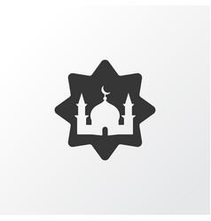 Masjid icon symbol premium quality isolated vector