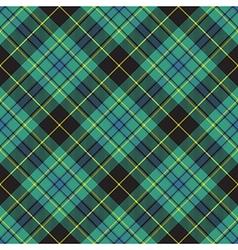 Pride of ireland tartan kilt texture seamless vector image