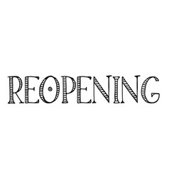reopening label stamp vector image